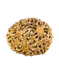 Alexis Bittar - Metallic Coral Reef Dome Ring - Lyst