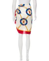 Chanel - Cc Printed Pareo Multicolor - Lyst