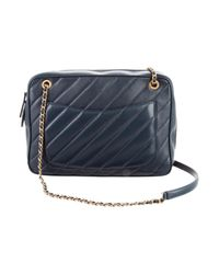 """Chanel - Metallic Covered Cc Signature Camera Case"""" Teal - Lyst"""