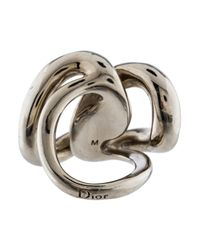 Dior - Metallic Diorosphère Ring - Lyst