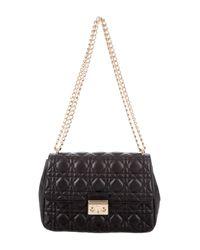 Dior - Metallic Miss Flap Bag Black - Lyst