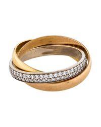 Cartier - Metallic Small Trinity De Ring Rose - Lyst