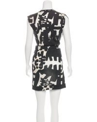 Isabel Marant - Black Sleeveless Mini Dress - Lyst