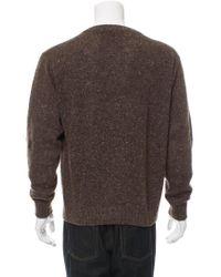 Loro Piana - Pullover Cashmere Sweater Brown for Men - Lyst