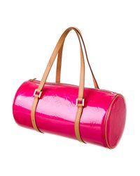 Louis Vuitton | Pink Vernis Bedford Bag Rose | Lyst