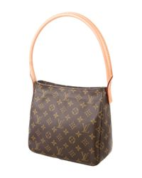 Louis Vuitton - Natural Monogram Looping Mm Brown - Lyst