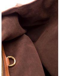 Louis Vuitton | Brown Mahina L Hobo Cognac | Lyst