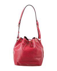 Louis Vuitton - Red Epi Petit Noé Rouge - Lyst