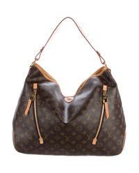 Lyst - Louis Vuitton Monogram Delightful Gm Brown in Natural 6ed9e5842
