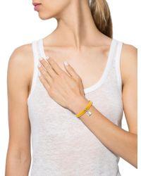 Louis Vuitton - Metallic Keep It Twice Wrap Bracelet Silver - Lyst