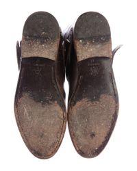 Golden Goose Deluxe Brand - Metallic Embossed Charlyle Boots Brown - Lyst