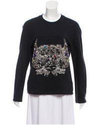 3.1 Phillip Lim - Black Sono Mama Embellished Sweatshirt W/ Tags - Lyst