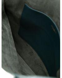 Nina Ricci - Green Irrisor Python Medium Flat Tote - Lyst