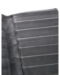 Chanel - Black Quilted Continental Wallet - Lyst