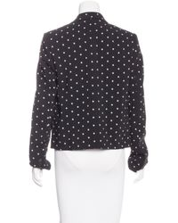Givenchy | Black Fitted Cross Print Blazer W/ Tags | Lyst