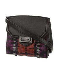 Alexander Wang - Black Leather Marion Crossbody Bag - Lyst
