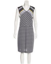 Missoni - Yellow Sleeveless Knit Dress W/ Tags Black - Lyst