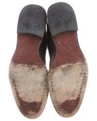 Loro Piana - Black Leather Knee-high Boots - Lyst