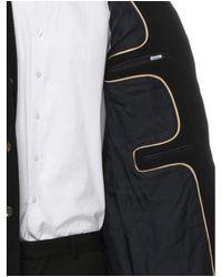 Rag & Bone - Black Wool Button-up Coat for Men - Lyst