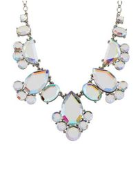 Kate Spade - Metallic Day Tripper Necklace Silver - Lyst