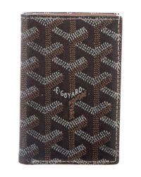 Goyard - Black Saint Pierre Card Holder - Lyst