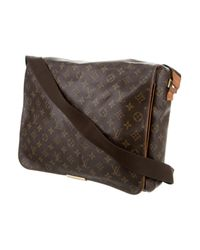 Louis Vuitton - Natural Monogram Abbesses Messenger Bag Brown - Lyst