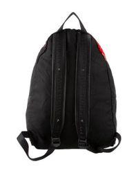 Givenchy - Black Leather-trimmed Doberman Backpack for Men - Lyst