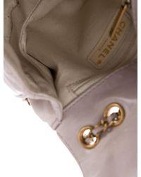 Chanel - Metallic 2015 Bubble Cc Crossbody Bag Beige - Lyst