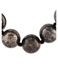 Lanvin - Black Ball Necklace - Lyst
