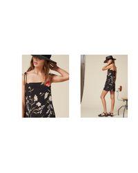 Reformation - Black Feliz Dress - Lyst