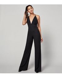 Reformation - Black Patton Jumpsuit - Lyst