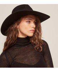 Reformation - Black Dorfman Pacific Big Brim Safari Hat - Lyst
