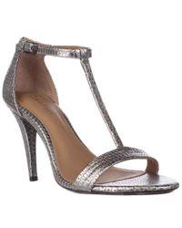 Calvin Klein | Multicolor Nasi T-strap Dress Sandals | Lyst