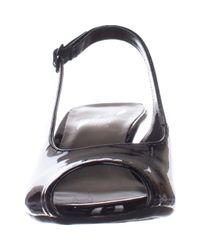 Aerosoles - Black Escapade Peep-toe Dress Pumps - Lyst