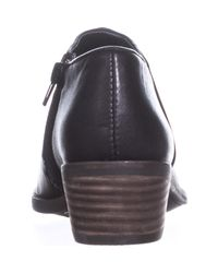 Lucky Brand - Faithly Casual Ankle Boots, Black - Lyst