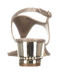 Adrianna Papell - Multicolor Cassidy T-strap Sandals - Lyst