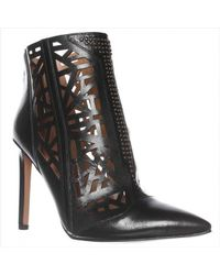 Nine West | Black Toocute Cut-out Pointed Toe Ankle Boots | Lyst