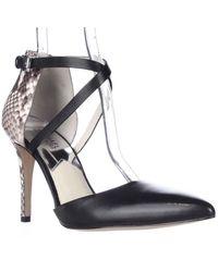 Michael Kors | Black Michael Alexia Closed Toe Heel Pumps | Lyst