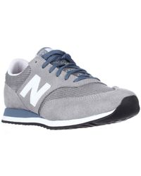 New Balance | Gray Classics Traditionnels 620 Athletic Sneakers for Men | Lyst