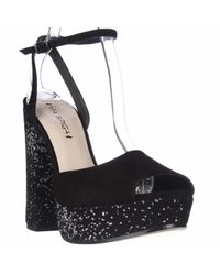 Via Spiga | Black Varsha Platform Ankle Strap Dress Sandals | Lyst