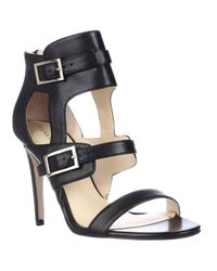 Ivanka Trump | Natural Donalu Dress Heel Sandals | Lyst