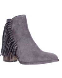 Kenneth Cole - Purple Reaction Rotini Side Fringe Ankle Boots - Lyst