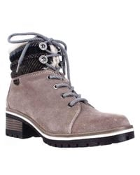 Anne Klein   Natural Sport Langstyn Lined Lace Up Snow Boots   Lyst