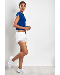 Adidas - Blue Warp-knit Tee Mystery Ink - Lyst