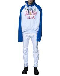 Vetements | White X Champion Print Hoodie for Men | Lyst