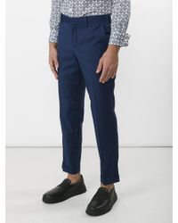 Carven - Blue Pantalon Chino Classique for Men - Lyst