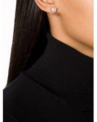 Nektar De Stagni - Metallic Spike Pearl Earrings - Lyst