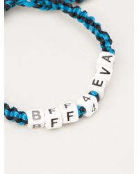 Venessa Arizaga | Blue 'bff4eva' Bracelet | Lyst