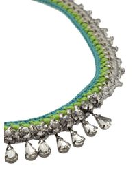 Venessa Arizaga - Green 'bahama Mama' Necklace - Lyst