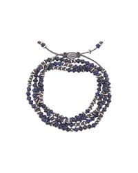 M. Cohen - Blue Beaded Necklace-bracelet for Men - Lyst